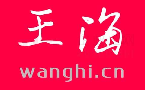 明天开始站长上班了:王海 wanghi.cn