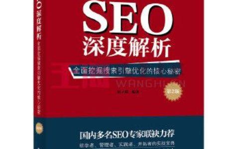 《SEO深度解析_全面挖掘搜索引擎优化的核心秘密(第2版)》_痞子瑞写的书可以吗?