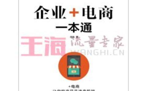 《企业+电商一本通》_seo入门书籍