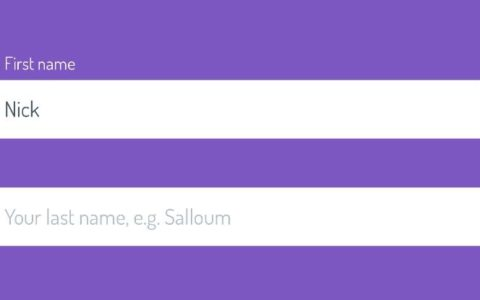 CSS :placeholder-shown伪类实现输入框浮动文字效果小白知识_效果入门攻略