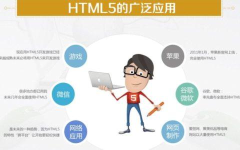 什么是HTML5前端开发?需要学哪些技术?小白帮助_前端攻略教程