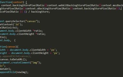 html2canvas 生成的图片变模糊解决方案菜鸟教程下载_图片入门攻略