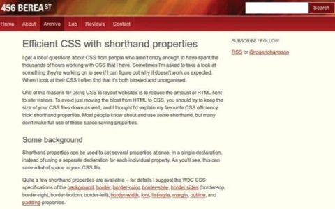 CSS 性能优化还有哪些方法?小白基础_优化新手入门