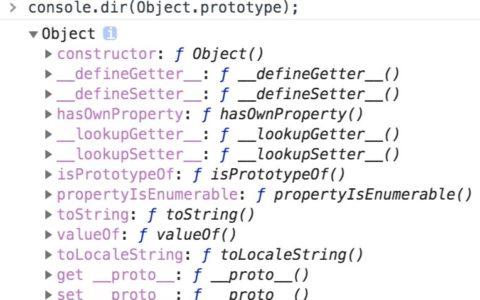 JS对象Object常用方法整理入门指南_对象教程视频
