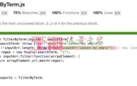 Jest 初学者教程:JavaScript 测试入门菜鸟攻略_测试基础知识教程