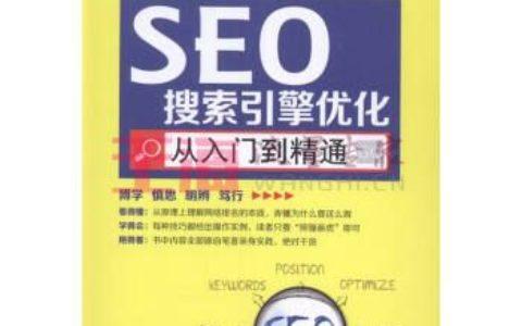 《SEO搜索引擎优化从入门到精通》_seo入门有哪些不错的书?