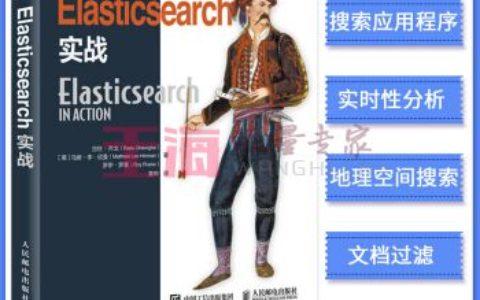 《Elasticsearch实战Elasticsearch入门教程书籍搜索引擎SEO弹性搜索入门》_seo入门书籍